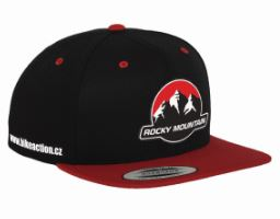 BIKEACTION ŠILTOVKA CLASSIC TRUCKER RED/BLACK