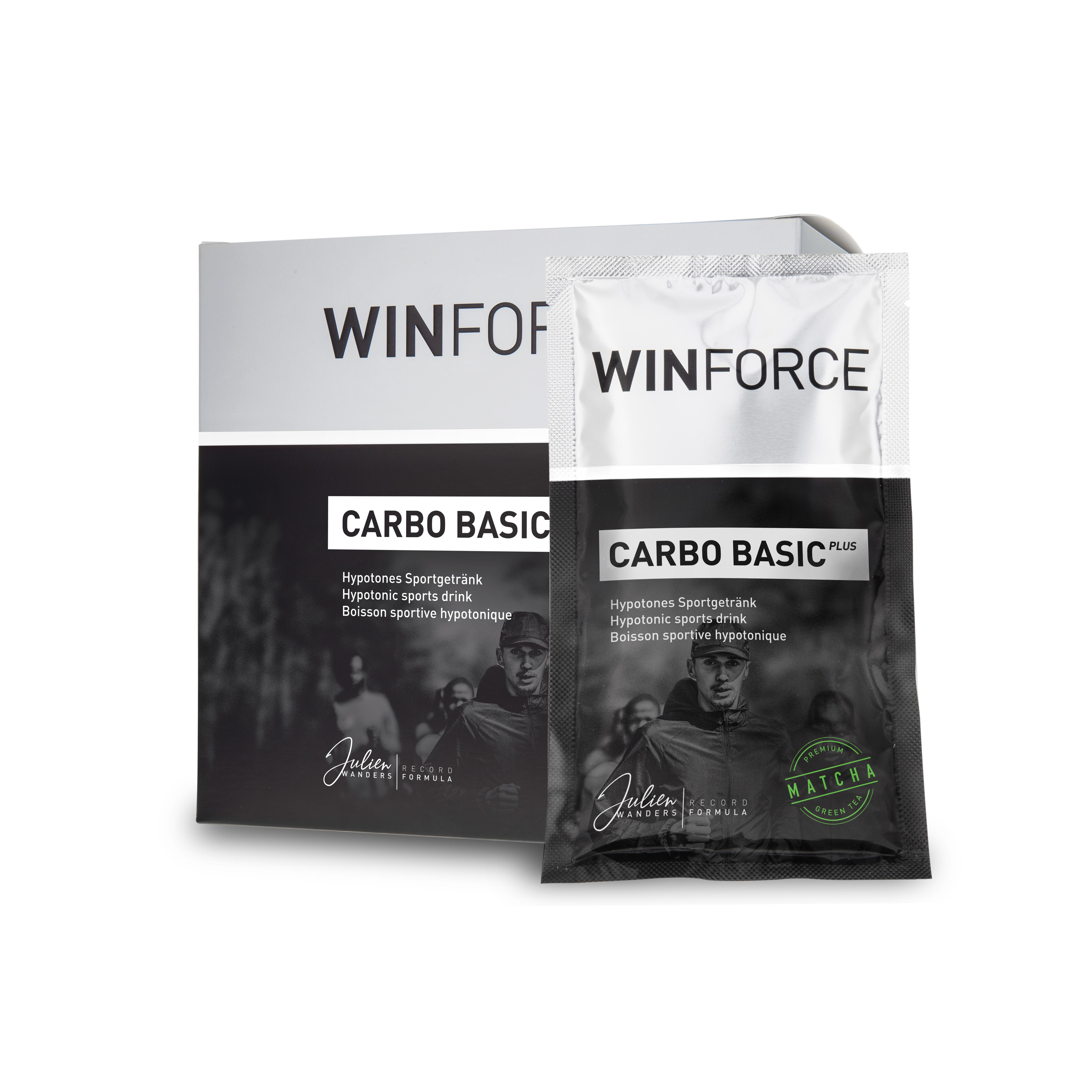 Carbo Basic Plus Zelený čaj BOX